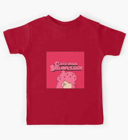 Clockwork Strawberry Kids Tee
