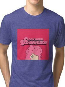 Clockwork Strawberry Tri-blend T-Shirt