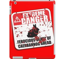 Extreme Danger iPad Case/Skin