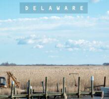 Leipsic Delaware. Sticker