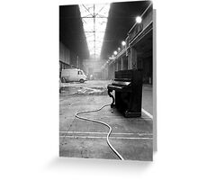 Piano Solo Greeting Card