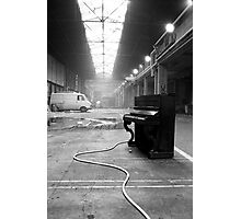 Piano Solo Photographic Print