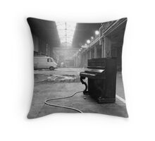 Piano Solo Throw Pillow