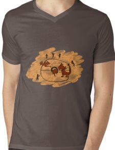 Rupestrian Pokemon Battle V.1 Mens V-Neck T-Shirt