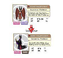 Maleficent Dex Info Photographic Print