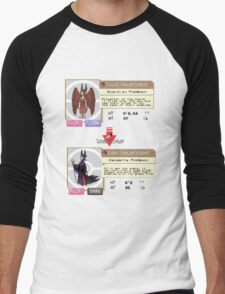 Maleficent Dex Info Men's Baseball ¾ T-Shirt