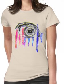 eye t Womens Fitted T-Shirt