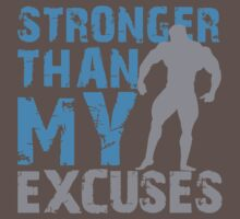Stronger than my excuses by nektarinchen