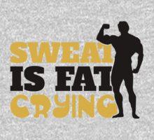 Sweat is fat crying by nektarinchen