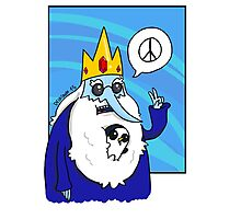 Ice King-Peace! Photographic Print