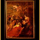 adoration of the magi by Ilapin