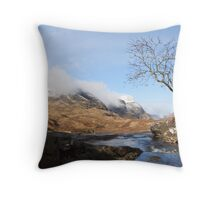 Three Sisters Glencoe. Throw Pillow