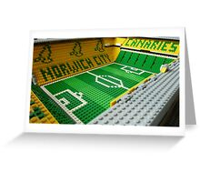 Carrow Road, Norwich Greeting Card