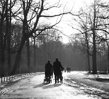 A walk in the park by Keiran Lusk