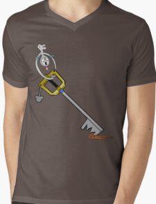 The Key is Mine Mens V-Neck T-Shirt