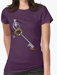 The Key is Mine Womens Fitted T-Shirt