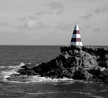 The Obelisk at Robe. South Australia  by Baldric