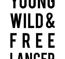 young, wild, freelancer by beakraus
