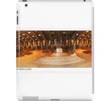 pius x  underground basilica lourdes iPad Case/Skin