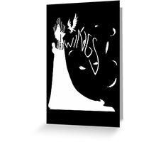My Wings (Dark) Greeting Card