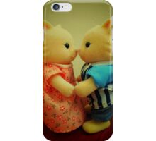 Sylvanian Families ~ Cats in Love iPhone Case/Skin