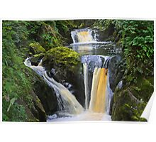 "the wonderful ""pecca falls"" yorkshire dales Poster"