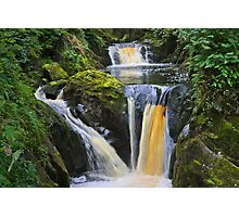"the wonderful ""pecca falls"" yorkshire dales Photographic Print"