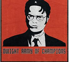 Dwight Army of Champions by tlamey