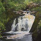 beezley falls yorkshire by Ilapin
