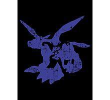 Blue Blaster Photographic Print