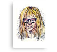 Garth Wayne's World Canvas Print