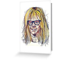 Garth Wayne's World Greeting Card