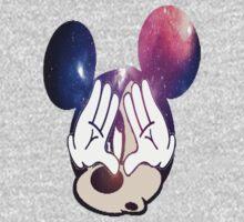 Mickey Illuminati Galaxy by xBlark