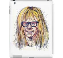 Garth Wayne's World iPad Case/Skin