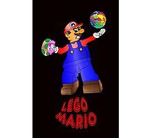 Lego Mario Photographic Print