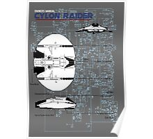 Owners Manual - Cylon Raider Poster