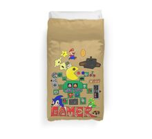 Retro Gamer Duvet Cover