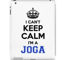 I cant keep calm Im a JOGA iPad Case/Skin