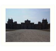 Blenheim Palace Art Print