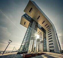 Crane House Cologne - wide angle by wulfman65