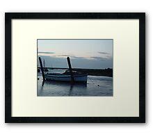 Boat at Blakeney Framed Print