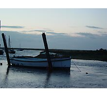 Boat at Blakeney Photographic Print