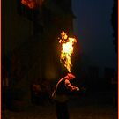 fire-eater malcesine italy by Ilapin