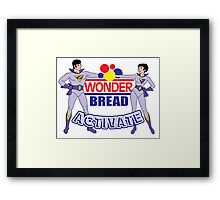 Wonder Bread Twins Framed Print