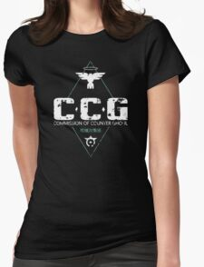 Commission of Counter Ghoul Womens Fitted T-Shirt