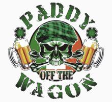 Irish Leprechaun Skull: Paddy off the Wagon by sdesiata