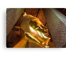 Reclining Buddha (Bangkok, Thailand) Canvas Print