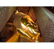 Reclining Buddha (Bangkok, Thailand) Photographic Print