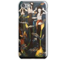 Silly mermaids iPhone Case/Skin