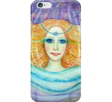 Goddess of deeper meaning iPhone Case/Skin